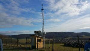 Nový vysielač v pásme 5GHz s dosahom Osuské, Jablonica,Cerová.